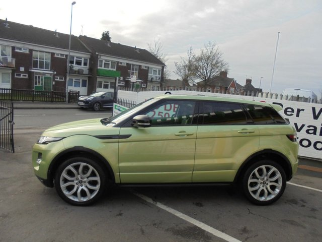 USED 2013 13 LAND ROVER RANGE ROVER EVOQUE 2.2 SD4 DYNAMIC LUX 5d 190 BHP JUST ARRIVED  AUTOMATIC SAT NAV