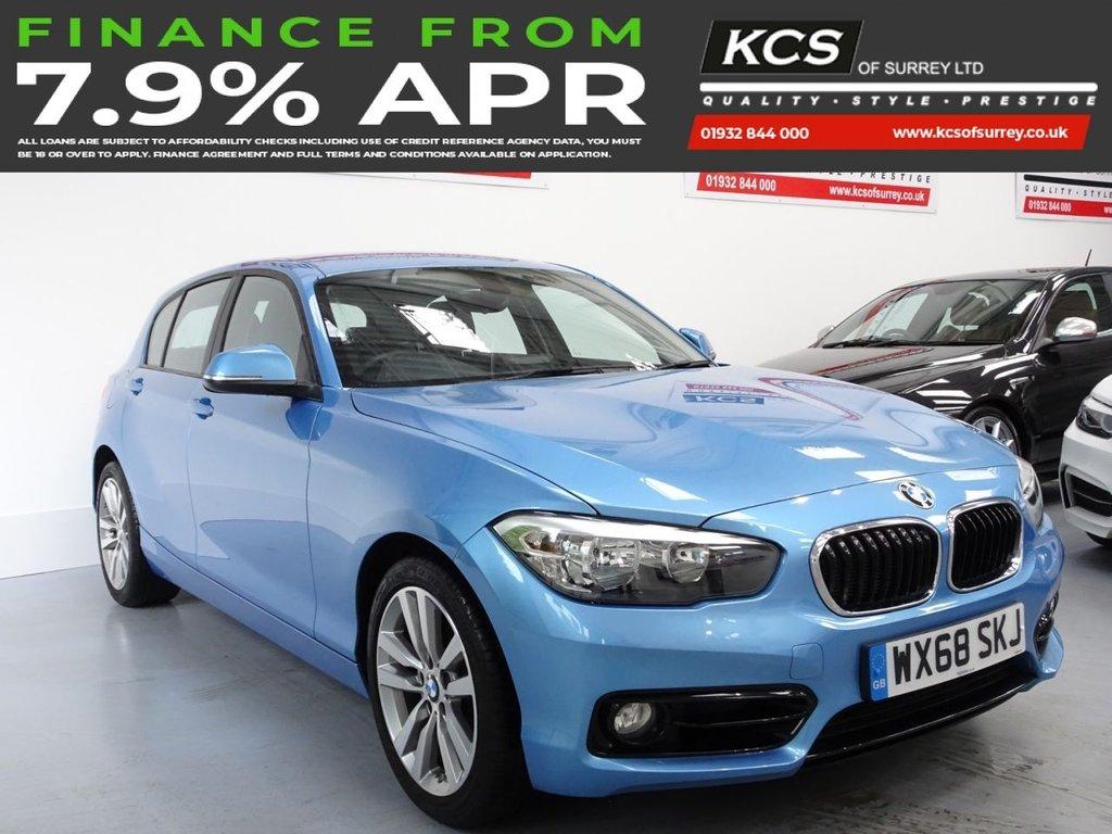USED 2018 68 BMW 1 SERIES 1.5 118I SPORT 5d 134 BHP NAVIGATION SYSTEM - BLUETOOTH