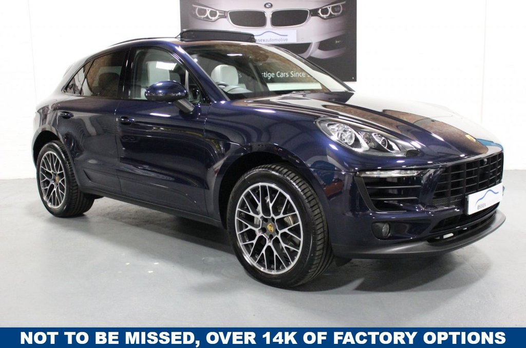 USED 2017 67 PORSCHE MACAN 3.0 D S PDK 5DR 1 OWNER
