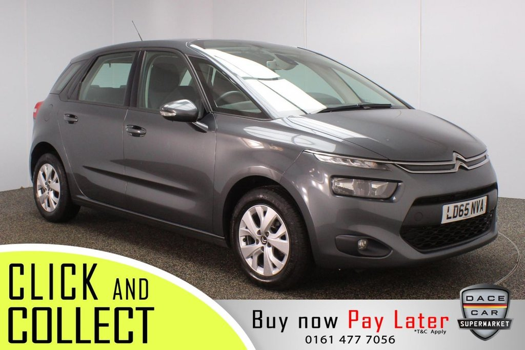 USED 2015 65 CITROEN C4 PICASSO 1.6 BLUEHDI VTR PLUS 5DR 1 OWNER 118 BHP FULL SERVICE HISTORY + FREE 12 MONTHS ROAD TAX + PARKING SENSOR + BLUETOOTH + CRUISE CONTROL + CLIMATE CONTROL + MULTI FUNCTION WHEEL + DAB RADIO + AUX/USB PORTS + ELECTRIC WINDOWS + ELECTRIC/HEATED/FOLDING DOOR MIRRORS + 16 INCH ALLOY WHEELS