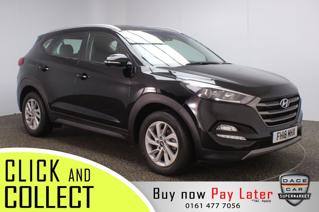 USED 2018 18 HYUNDAI TUCSON 1.7 CRDI SE NAV BLUE DRIVE 5DR 1 OWNER AUTO 139 BHP + FULL SERVICE HISTORY  FULL SERVICE HISTORY + HEATED FRONT SEATS + SATELLITE NAVIGATION + REVERSING CAMERA + PARKING SENSOR + LANE ASSIST SYSTEM + BLUETOOTH + CRUISE CONTROL + CLIMATE CONTROL + MULTI FUNCTION WHEEL + LED HEADLIGHTS + DAB RADIO + AUX/USB PORTS + ELECTRIC WINDOWS + ELECTRIC/HEATED/FOLDING DOOR MIRRORS + 17 INCH ALLOY WHEELS