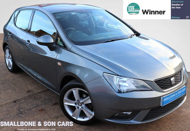 USED 2014 14 SEAT IBIZA 1.4 TOCA 5d 85 BHP * BUY ONLINE * FREE NATIONWIDE DELIVERY *