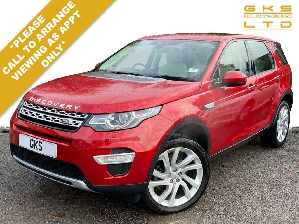 USED 2015 65 LAND ROVER DISCOVERY SPORT 2.0 TD4 HSE LUXURY 5d 180 BHP ** NATIONWIDE DELIVERY AVAILABLE **