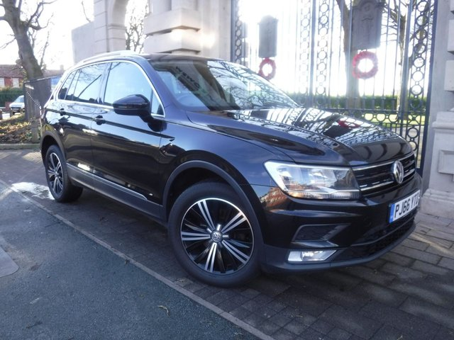 USED 2016 66 VOLKSWAGEN TIGUAN 2.0 SE NAV TDI BMT 4MOTION 5d 148 BHP *4MOTION*1 OWNER FROM NEW*6 SPEED*SAT NAV*DAB AUX USB*BLUETOOTH*