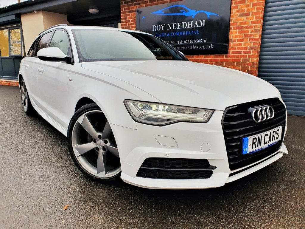USED 2015 65 AUDI A6 2.0 AVANT TDI ULTRA BLACK EDITION 5DR 188 BHP *** GREAT SPEC - READY TO GO ***