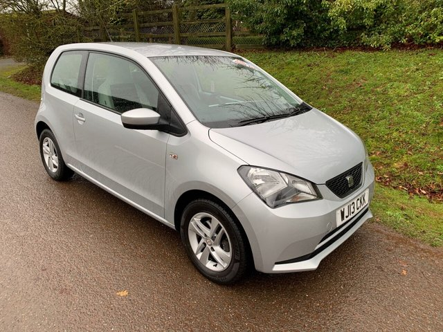 USED 2013 13 SEAT MII 1.0 TOCA 3d 59 BHP ** MOT ** SERVICE HISTORY ** CHEAP TAX ** LOW MILES ** 2 KEYS **