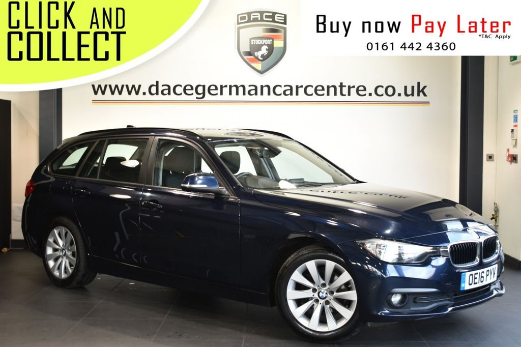 USED 2016 16 BMW 3 SERIES 2.0 318D SE TOURING 5DR 148 BHP