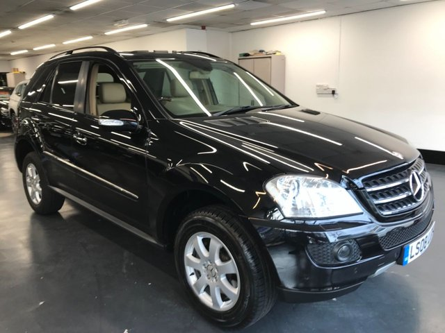 USED 2008 08 MERCEDES-BENZ M-CLASS 3.5 ML350 SE 5d 269 BHP AMAZING SERVICE HISTORY, 11 STAMPS, ALL INVOICES, HUGE SPEC  CAR , ULEZ FREE