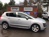 2011 PEUGEOT 3008 1.6 EXCLUSIVE HDI 5d 112 BHP £3890.00