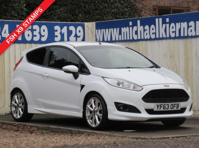 USED 2013 63 FORD FIESTA 1.6 ZETEC S TDCI 3d 94 BHP SUPER CONDITION