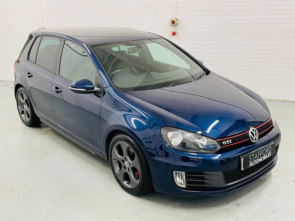 USED 2012 61 VOLKSWAGEN GOLF 2.0 GTI 5d 210 BHP 1 FORMER KEEPER FROM NEW, HEATED LEATHER, FINANCE AVAILABLE