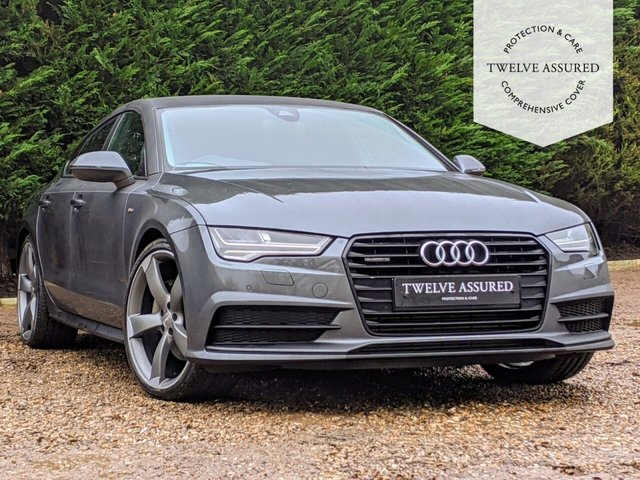 USED 2016 16 AUDI A7 3.0 SPORTBACK TDI QUATTRO BLACK EDITION 5d AUTO 268 BHP (1 OWNER & HEADS UP DISPLAY)