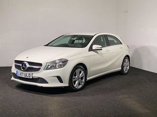 USED 2017 17 MERCEDES-BENZ A-CLASS 1.5 A 180 D SPORT 5d 107 BHP FAUX LEATHER + REVERSE CAM
