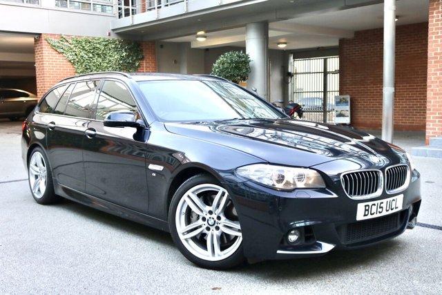 USED 2015 15 BMW 5 SERIES 3.0 535D M SPORT TOURING 5d 309 BHP
