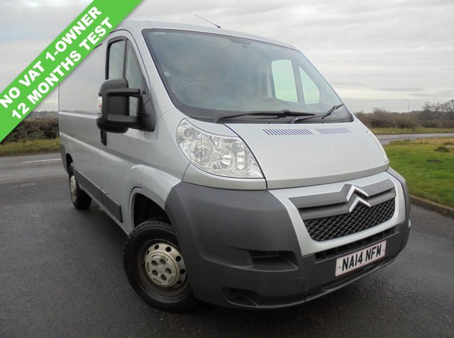 2014 14 CITROEN RELAY 2.2 30 L1H1 ENTERPRISE HDI 109 BHP