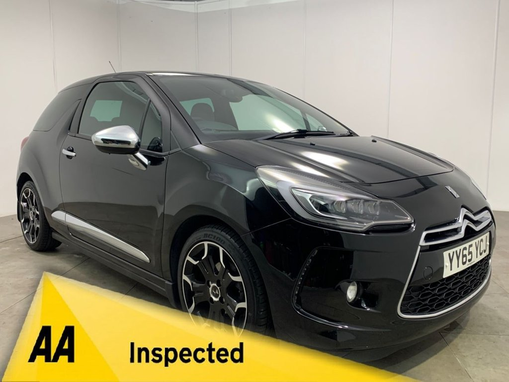 USED 2016 65 DS DS 3 1.2 PURETECH DARK LIGHT S/S EAT6 3d AUTOMATIC