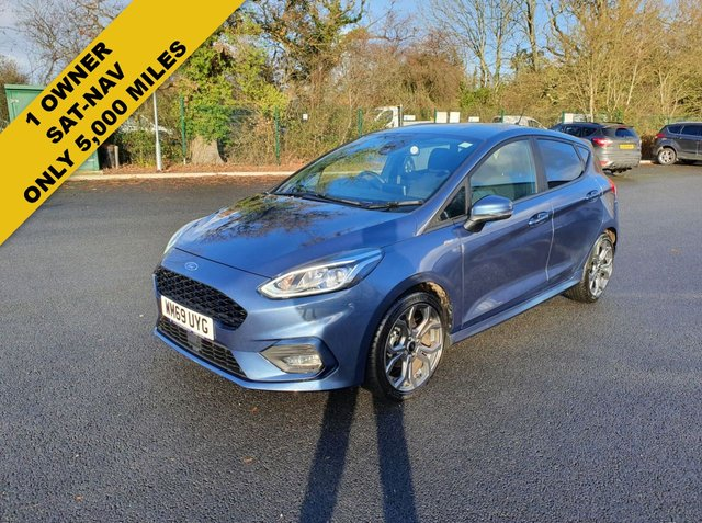 2020 69 FORD FIESTA 1.0 ST-LINE NAVIGATOR ECOBOOST (125PS) NEW MODEL