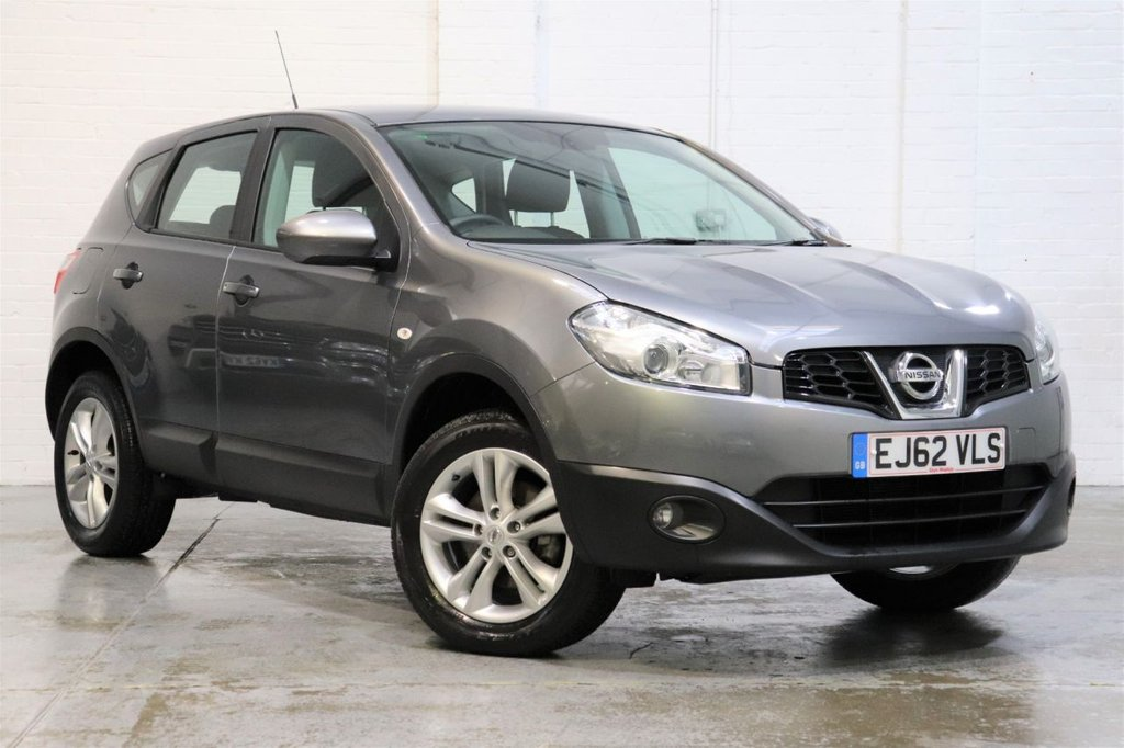 USED 2012 62 NISSAN QASHQAI 1.6 ACENTA 5d 117 BHP Very Low Mileage 13k, Only