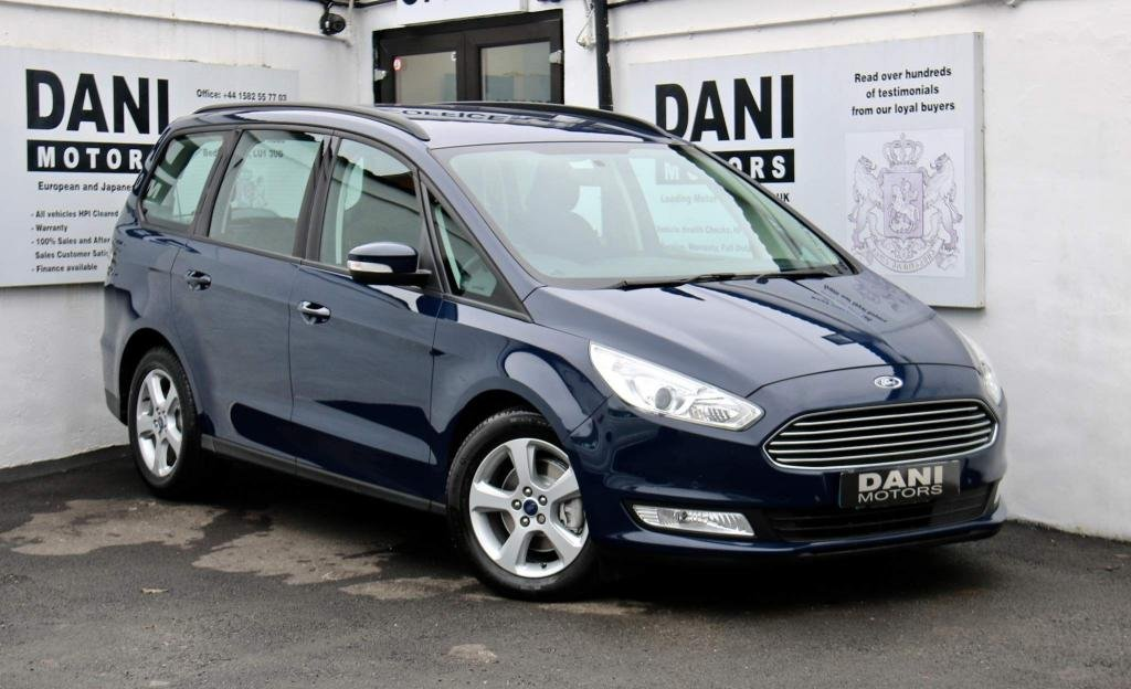 USED 2016 66 FORD GALAXY 2.0 TDCi Zetec Powershift (s/s) 5dr 1 OWNER*APPLE PLAY*PARKING AID
