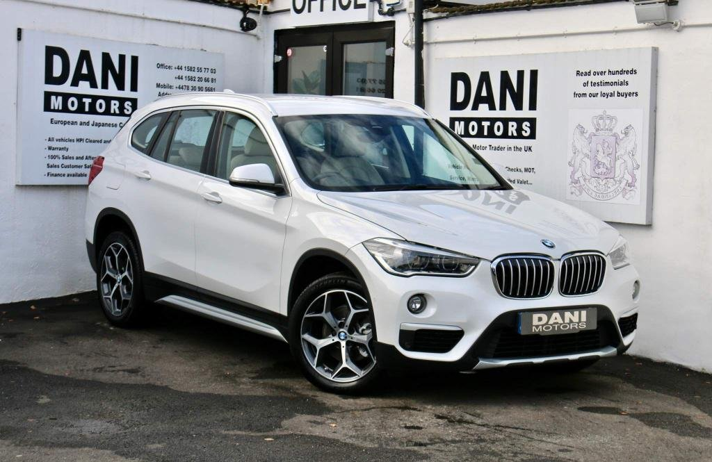 USED 2016 16 BMW X1 2.0 18d xLine Auto xDrive (s/s) 5dr 1 OWNER*SATNAV*PARKING AID