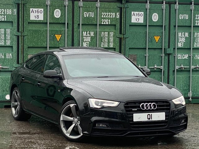 USED 2015 65 AUDI A5 2.0 TDI S line Sportback quattro (s/s) 5dr BUY ONLINE + FREE DELIVERY