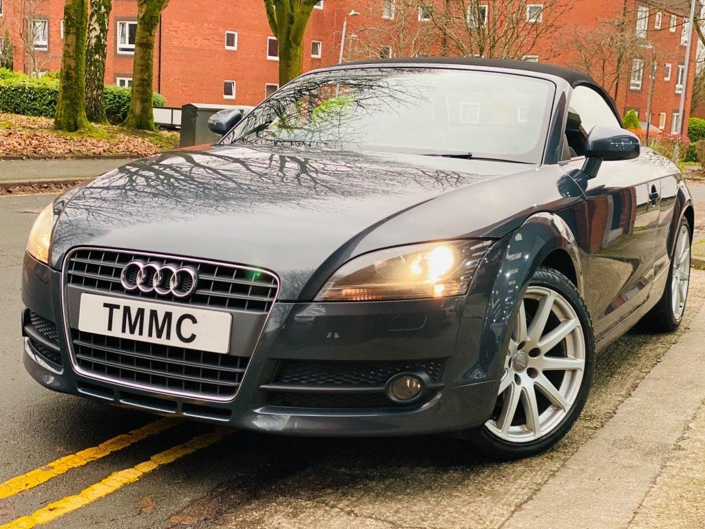 USED 2009 09 AUDI TT 2.0 T Roadster 2dr Big Wheels|Part Leather