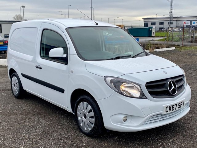 2017 67 MERCEDES-BENZ CITAN 1.5 109 CDI LONG BLUEEFFICIENCY EURO 6