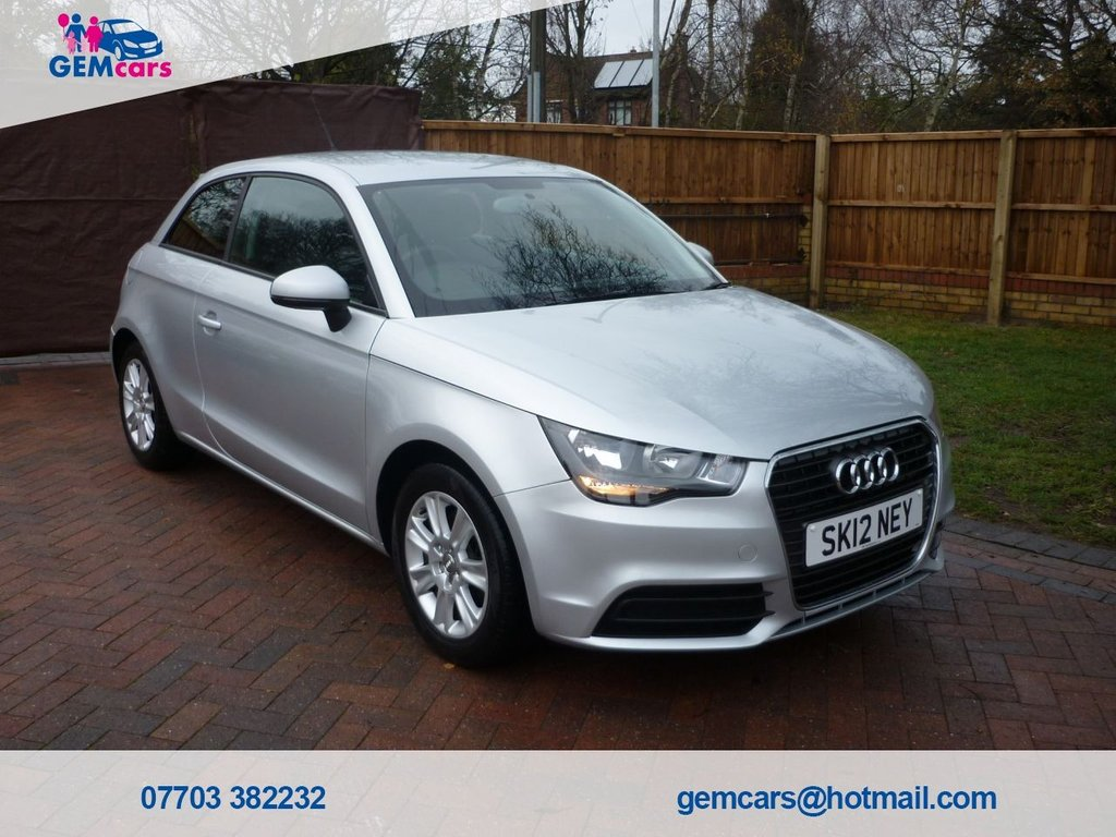 USED 2012 12 AUDI A1 1.6 TDI SE 3d 103 BHP GO TO OUR WEBSITE TO WATCH A FULL WALKROUND VIDEO