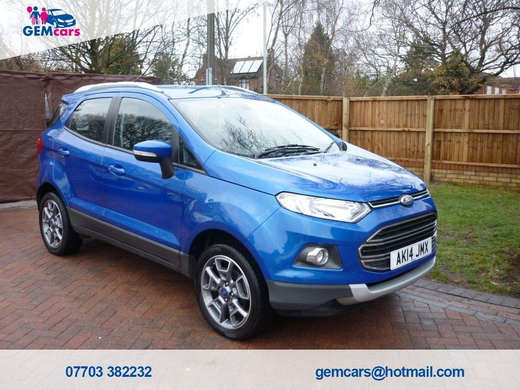 USED 2014 14 FORD ECOSPORT 1.0 TITANIUM X-PACK 5d 124 BHP GO TO OUR WEBSITE TO WATCH A FULL WALKROUND VIDEO