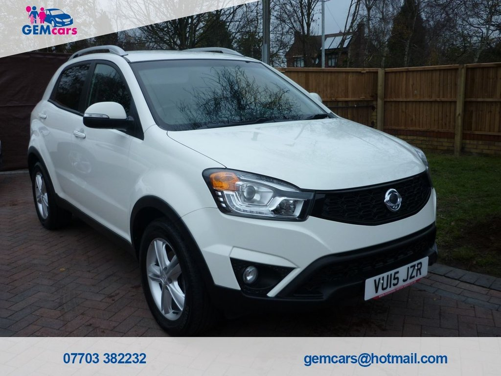 USED 2015 15 SSANGYONG KORANDO 2.0 ELX4 5d 147 BHP GO TO OUR WEBSITE TO WATCH A FULL WALKROUND VIDEO