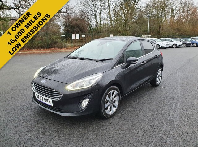 2018 67 FORD FIESTA 1.0 ZETEC ECOBOOST (100PS) NEW MODEL