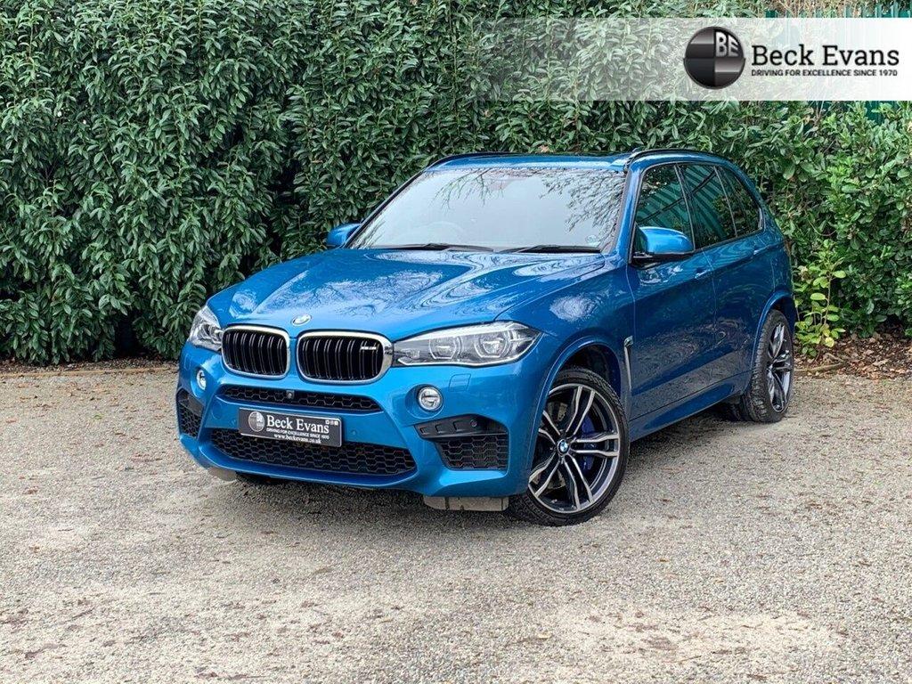 USED 2017 17 BMW X5 4.4 M 5d 568 BHP