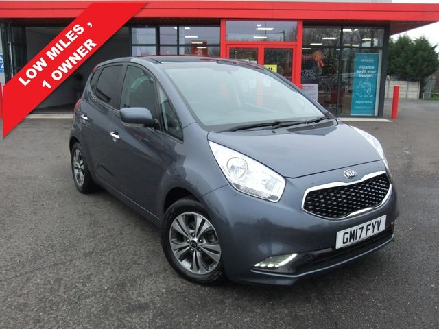 USED 2017 17 KIA VENGA 1.6 4 5d 123 BHP AUTO, GREAT MPG