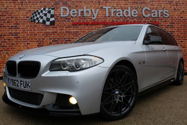 BMW 5 SERIES at Derby Trade Cars