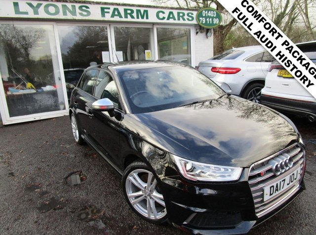 USED 2017 17 AUDI A1 2.0 S1 QUATTRO SPORTBACK 5d 228 BHP *COMFORT PACKAGE* **Optional extra Comfort Package which includes Rear Parking Sensors, Auto-Dimming Rear View Mirror, Cruise Control + Light/Rain Sensors** Full Audi Service History, One Previous Owner, MOT until June 2021