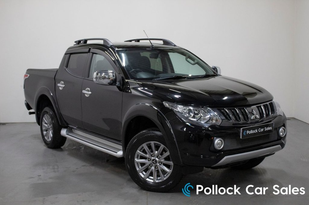 USED 2018 68 MITSUBISHI L200 BARBARIAN AUTO 178BHP 3.5T NEVER TOWED 3.5T Towing, Never Towed, Excellent Condition