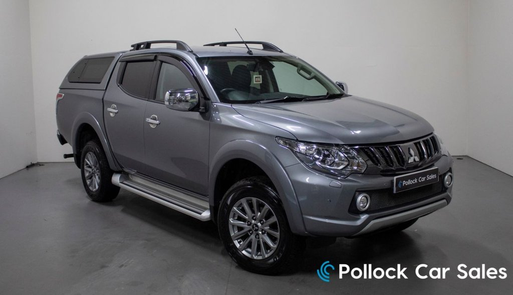 USED 2019 68 MITSUBISHI L200 BARBARIAN AUTO 178BHP - 3.5T TOWING, CANOPY 3.5T Towing Capacity, Canopy, Excellent Condition