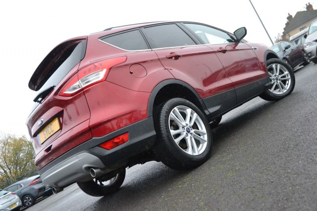 USED 2015 65 FORD KUGA 2.0 TITANIUM X TDCI 5d 148 BHP ~ PAN ROOF ~ HEATED LEATHER FULL OPENING PAN ROOF ~ 5 STAGE HEATED SEATS ~ PRIVACY GLASS