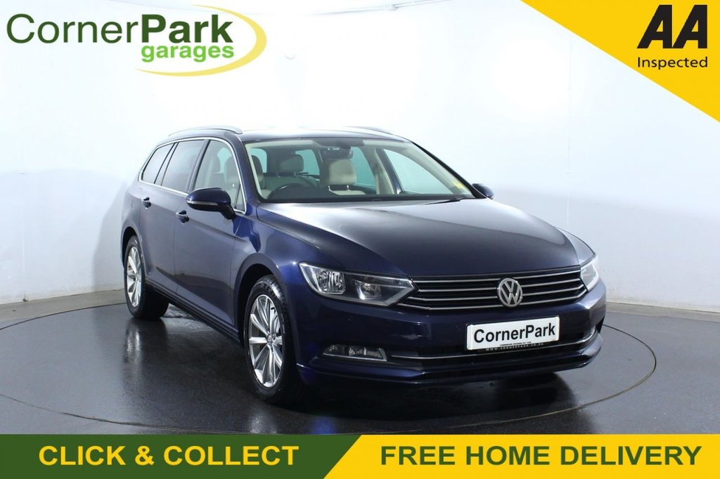 USED 2017 17 VOLKSWAGEN PASSAT 1.6 SE BUSINESS TDI BLUEMOTION TECHNOLOGY 5d 119 BHP
