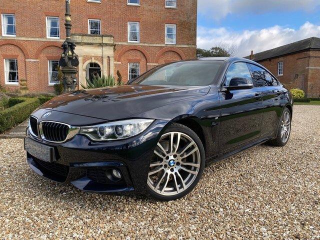 2016 66 BMW 4 SERIES 2.0 420D M SPORT GRAN COUPE 4d 188 BHP