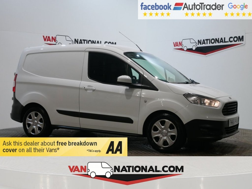 USED 2017 66 FORD TRANSIT COURIER 1.6 TREND TDCI 95 BHP (EURO 6 ) * ONE OWNER * EURO 6 * DAB * ZERO DEPOSIT FINANCE AVAILABLE *