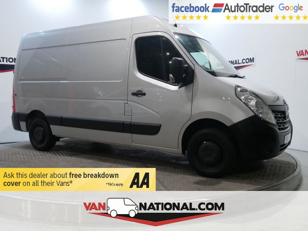 USED 2016 16 RENAULT MASTER 2.3 MM35 BUSINESS DCI H/R P/V 125 BHP (MWB SUPER LOW MILEAGE) * ONE OWNER * BLUETOOTH * MWB * ZERO DEPOSIT FINANCE AVAILABLE *