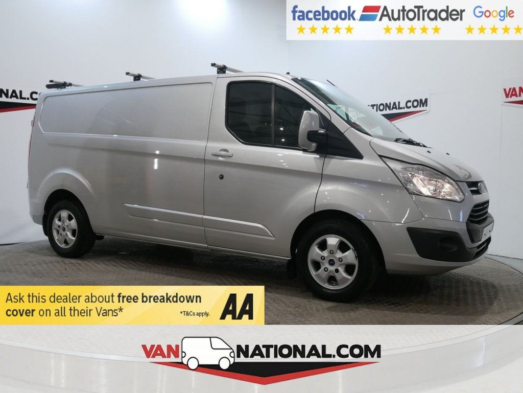 USED 2016 66 FORD TRANSIT CUSTOM 2.0 290 LIMITED L2 *NAV*CAMERA*EURO 6 * A/C*LWB * ONE OWNER * EURO 6 * NAV * LWB * ZERO DEPOSIT FINANCE AVAILABLE *