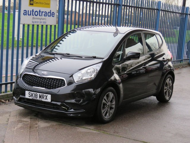USED 2018 18 KIA VENGA 1.6 2 5d 123 BHP Automatic,Low Miles,Air Conditioning,Service History