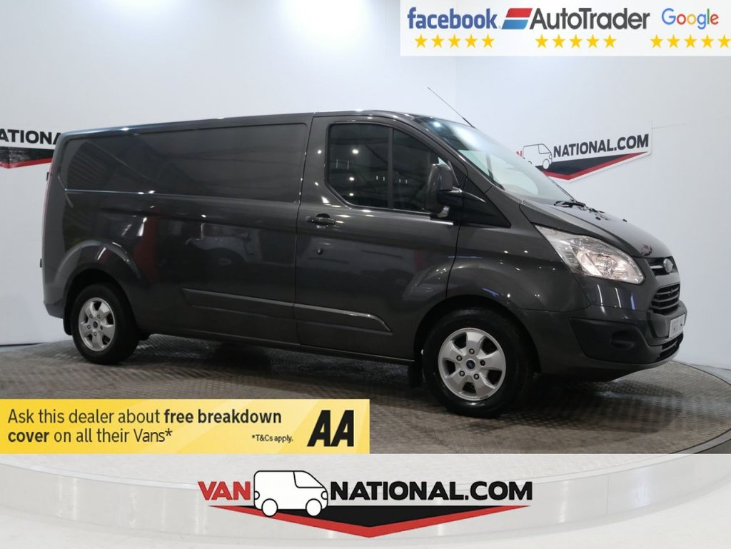USED 2016 66 FORD TRANSIT CUSTOM 2.0 290 LIMITED LR P/V 130 BHP L2 H1 ( LWB * EURO 6 * AIR CON*) * ONE OWNER * EURO 6 * AIR CON * LWB * ZERO DEPOSIT FINANCE AVAILABLE *