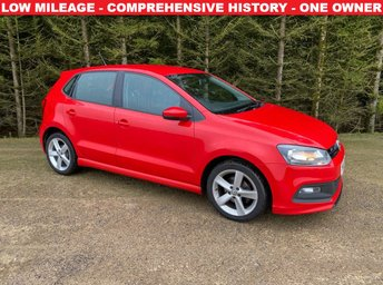 2013 VOLKSWAGEN POLO 1.2 R-LINE STYLE 5d 60 BHP £6500.00