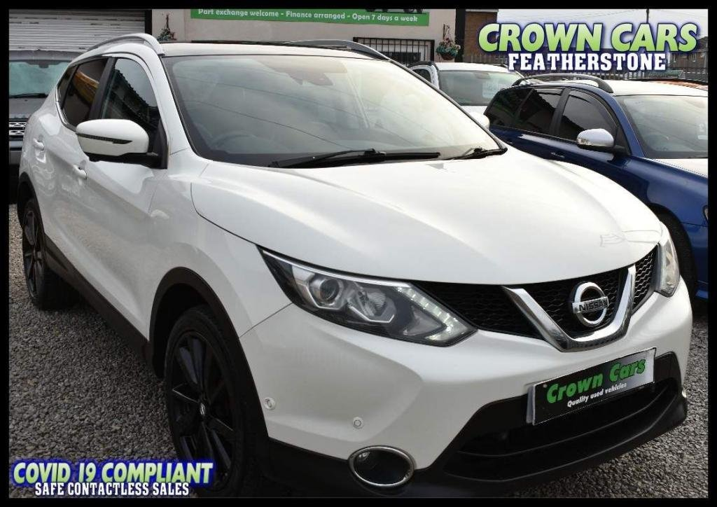 USED 2015 65 NISSAN QASHQAI 1.5 dCi Tekna 5dr FREE FINANCE ELIGIBILITY CHECK