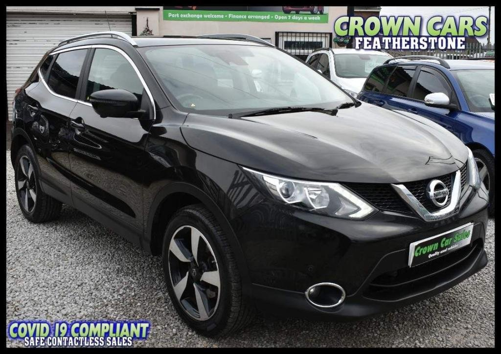 USED 2016 16 NISSAN QASHQAI 1.5 dCi N-Connecta 5dr FREE FINANCE ELIGIBILITY CHECK