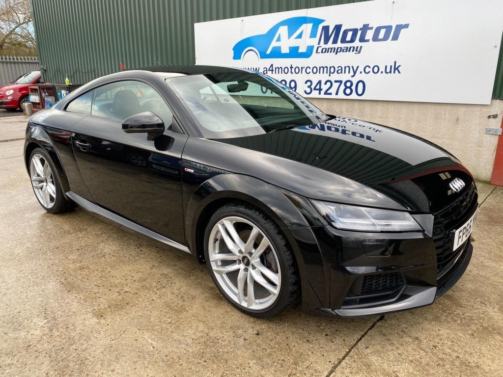 USED 2015 65 AUDI TT 2.0 TDI ultra S line (s/s) 3dr NEW SHAPE DIGITAL DASH SAT NAV