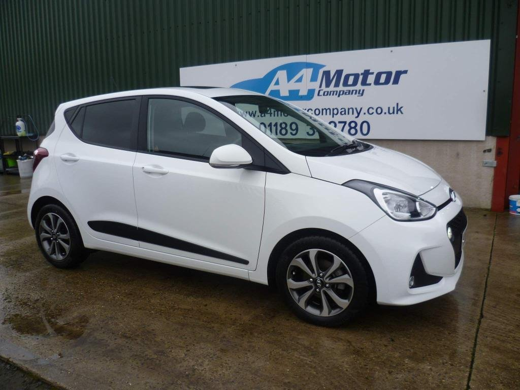 USED 2017 67 HYUNDAI I10 1.2 Premium SE 5dr WE ARE PROUD OF ARE REVIEWS